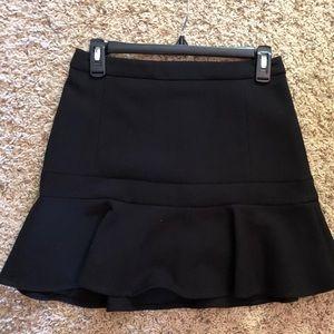 Express peplum mini skirt